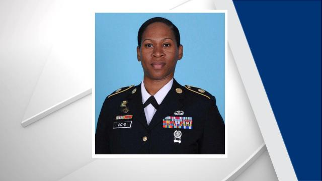 Sgt. 1st Class Nikyisha T. Boyd, 35, from Kissimmee, Florida, was killed in a crash on Fort Bragg, officials said. No additional information about the crash was provided. Photo courtesy of Fort Bragg