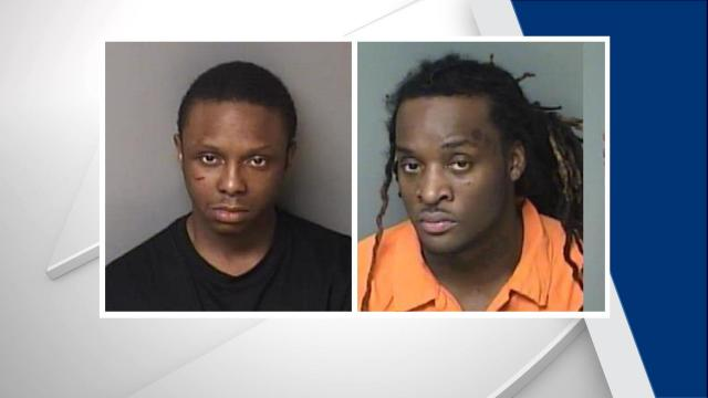 Alonzo Lewis Hamilton (left) and Allen Slaughter (right) have each been charged with six felony counts of assault with a deadly weapon with intent to kill inflicting serious injury.