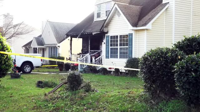 A dog died in a Nov. 15, 2020, fire at 100 Perry Farms Drive in Apex.