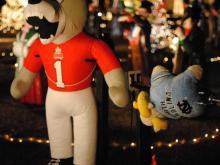 Wolfpack roasts the Tar Heels at Happyland Christmas Lights