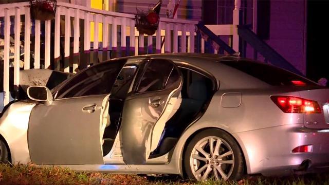 Driver hurt when car crashes into Durham home