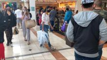 IMAGES: Shoppers following rules, but Crabtree Valley still crowded on Black Friday