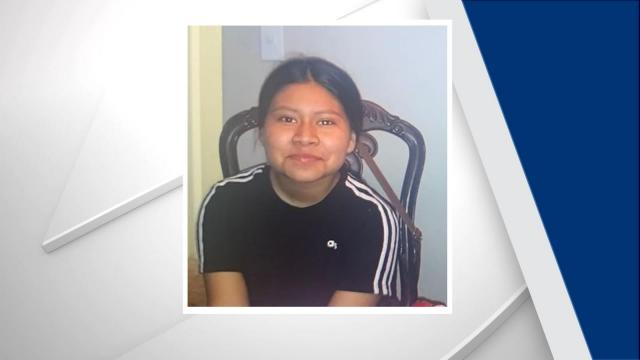 Alma Gerardo was last seen riding a black skateboard in the 2400 block of Wesvil Court in Raleigh on Tuesday.