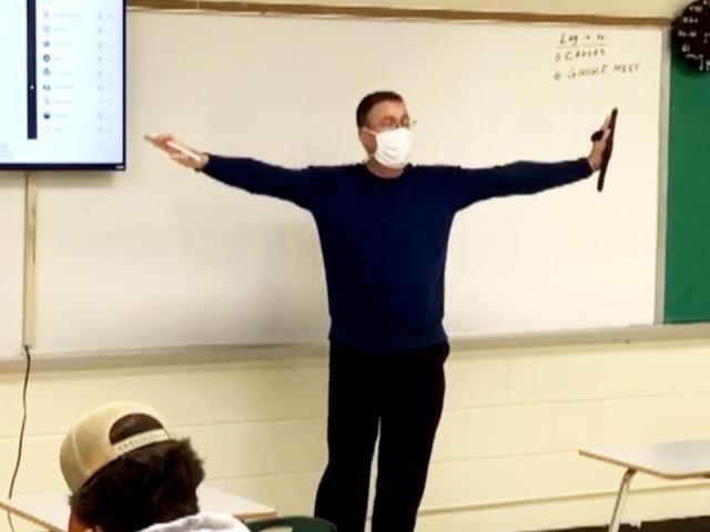 Teacher of the Week: Michael Fury, North Moore High School