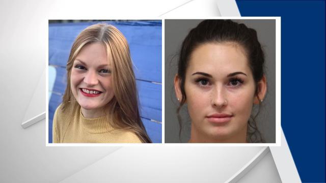 Amber Jana Johnson, left, and Briahna Nicole Haskell