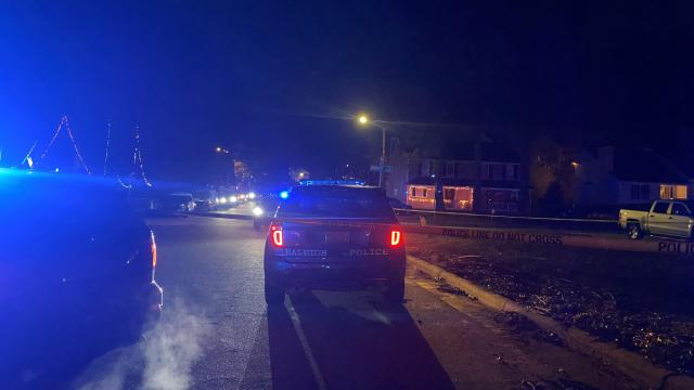 Raleigh police are investigating a Wednesday night shooting that left one woman injured.