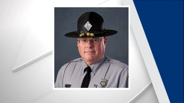 """According to officials,Sergeant Timothy """"Lee"""" Howell lost his lengthy battle with the virus on Thursday afternoon at UNC Hospital. Credit: NC Highway Patrol"""