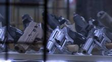 IMAGES: Gun permits soar during pandemic