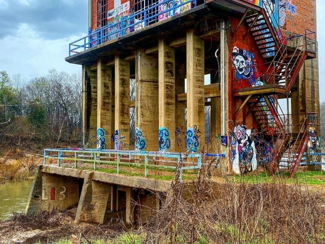 Carbonton dam: Exploring 100-year-old remains of CP&L's early power stations