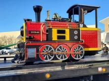 Bandit Towing and Transport took the Cary Towne Center train on its final ride through the mall. Where will it go next?