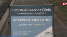 IMAGE: Appointments mean no long line for vaccine at UNC Health