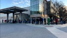 IMAGE: Long lines prompt Harnett hospital to open vaccine clinic early