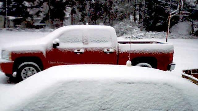 North Carolina saw upwards of seven inches of snow dumped from snowstorm Anny in 2009.