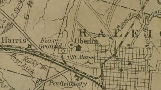What happened to Raleigh's 13 Freedman Villages?