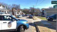 IMAGES: Raleigh police: No danger in grenade found on East Cabarrus Street