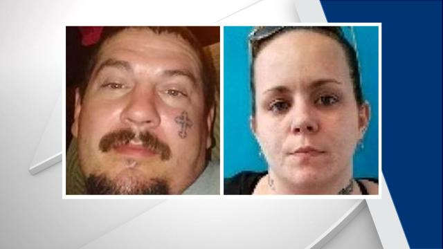 Jonathan Jones, Christina Edge, Sampson County Amber Alert