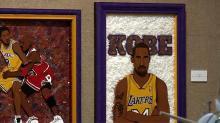 IMAGE: Rocky Mount artist dedicates exhibit to Kobe Bryant