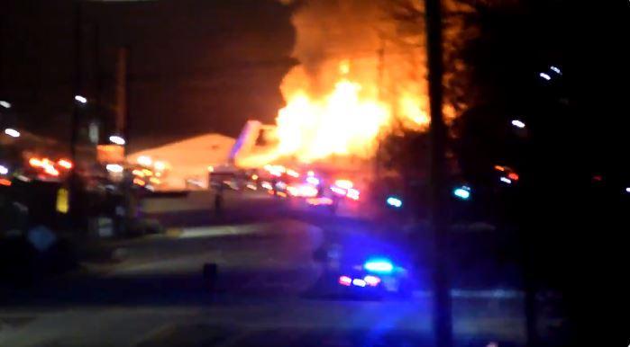 Massive fire at Concord diner under investigation