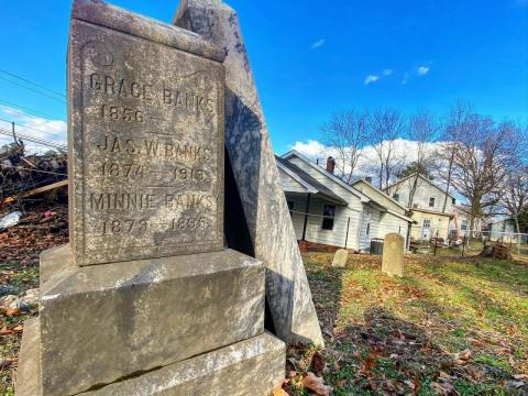 Geer Cemetery in a historically Black cemetery established in Durham in 1877.