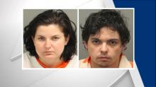 IMAGES: Pair charged with killing pregnant woman who had been living in tent in Wendell