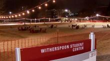 IMAGE: NC State creates new outdoor lounge for social distancing