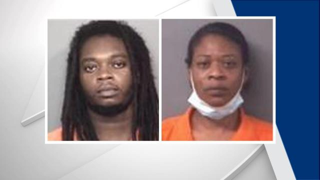 Two charged after baby left outside overnight in Wilson