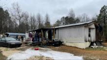 IMAGES: Moore County family loses everything after heater explodes in home of 30 years