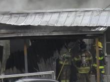 Kerosene heater fire destroys home, displaces Moore County family