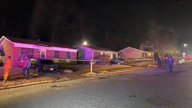 Three people were injured on Friday night in a shooting near Glenbrook Drive in Durham.