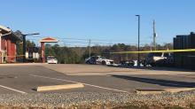 IMAGES: Man dead after being shot in the chest at a Fayetteville Zaxby's