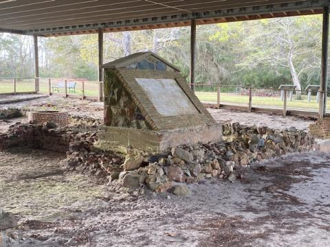 Russellborough's ruins stand near the ghost town of Brunswick Town, which is also in ruins. Today, the Russellborough ruins provide a footprint of the once grand Royal Governors' mansion, built in 1751, decades before the founding of the United States.