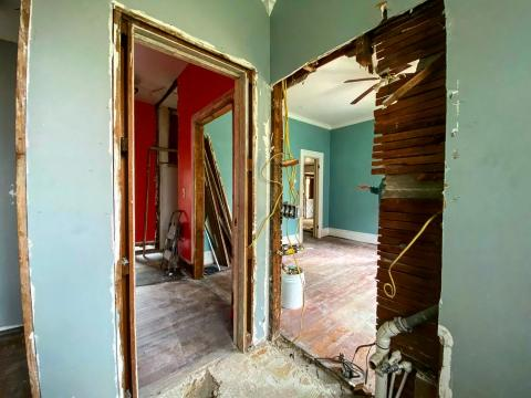 Owls Nest Properties is working to renovate the historic Makepeace House in the Rosemount-McIver historic neighborhood in Sanford.