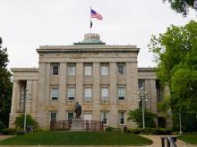North Carolina State Capitol building. Photo taken May 22, 2021.