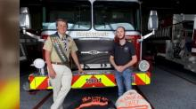 IMAGE: Tarboro teen saves local fire department after raising $20k during Eagle Scout project