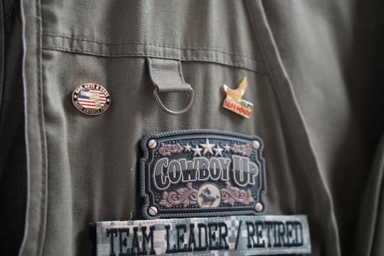 Cowboy's wilderness vest