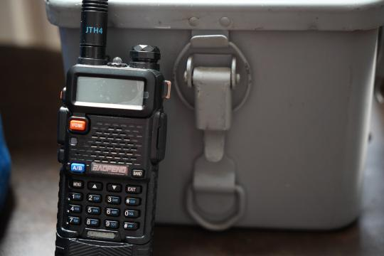 Preppers use ham radios to communicate