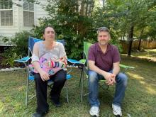 Heather Trevaskis and Dave Henderson