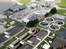 Triangle Wastewater Treatment plant in Durham