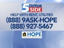 HOPE: Help with rent, utilities