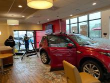 A  Motor Vehicle Accident that occurred around 9:32 am this morning at Wendy's Restaurant in Graham.