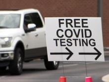 coronavirus testing site
