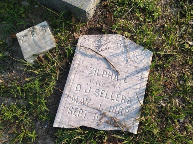 Graves in historic church cemetery vandalized