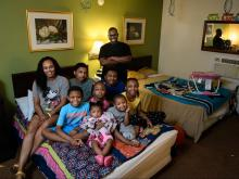 Fayetteville family of 9, who was living in a motel and then Salvation Army Shelter, now has a place to stay.