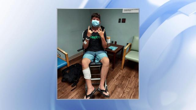 A teenager was possibly bitten by a shark in Wrightsville Beach on Tuesday.