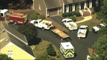 IMAGES: Raleigh home evacuated due to gas leak near Spring Forest Road