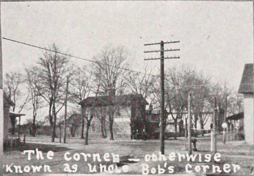 Origins of Cary's thoroughfare  names. (Image courtesy of Friends of Page-Walker and Town of Cary archives)