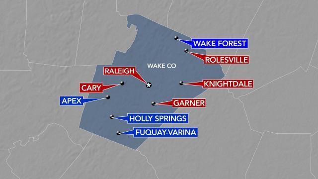 Wake County disguise  mandates