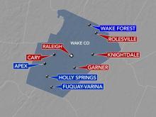 Wake County mask mandates