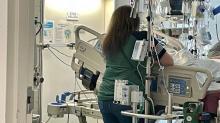 IMAGES: UNC Medical Center ICU confronts surge of COVID patients