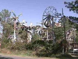 The original whirligig park: Vollis Simpson's farm